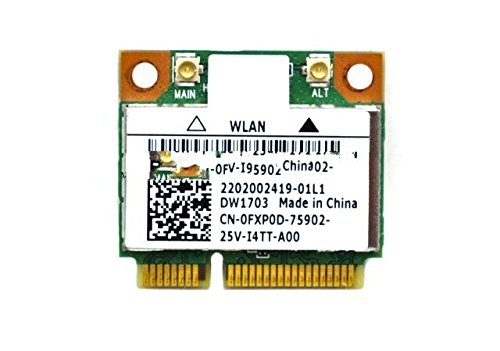 Dell Wireless Wlan Card Dw1703 Fxp0D Usa
