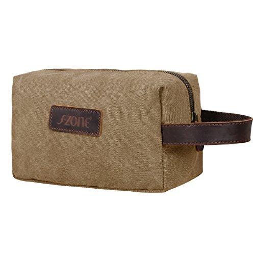 s-zone-canvas-travel-toiletry-organizer-shaving-dopp-kit-cosmetic-makeup-bag