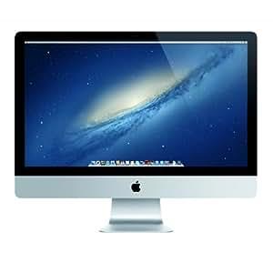 "Apple iMac 27"" Desktop - 3.4GHz Intel Core i7 Quad-Core, 1TB Fusion Drive, 8GB 1600MHz DDR3 SDRAM, 10.8 Mountain Lion (64-bit)"