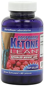 MaritzMayer Raspberry Ketone Lean Advanced Weight Loss Supplement 60 Capsules Per Bottle 1 Bottle