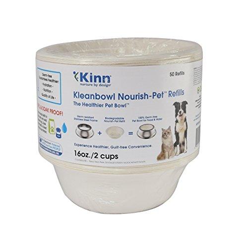 Kleanbowl Nourish Pet Refill Bowls, 16oz (2 cups) B-BRP-A1