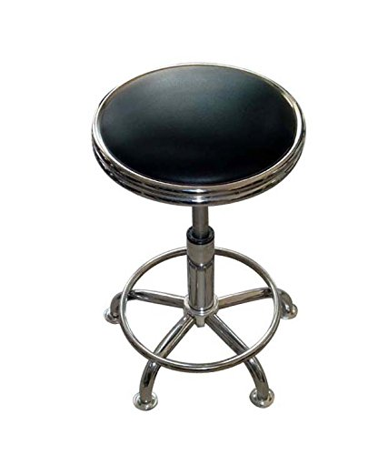 kitchen stool black amazon with be dp back boss com spa well office chair bk in products dining medical