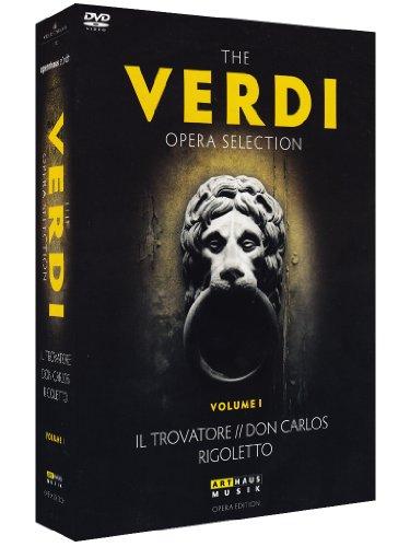 The Verdi Opera Selection Vol.1 [3 DVDs]