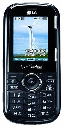 LG Cosmos, Black (Verizon Wireless)
