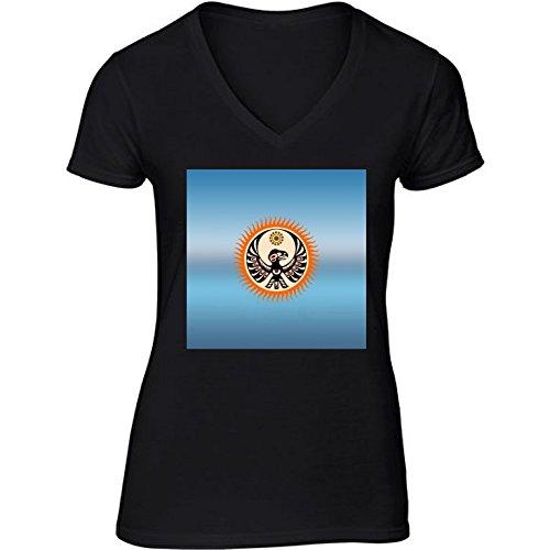 camiseta-negro-con-v-cuello-para-mujer-tamano-m-escudo-nativo-americano-by-hera56