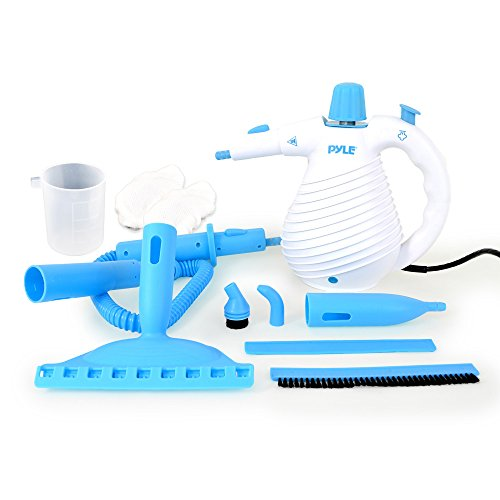 Check Out This Pyle PSTHH05 Handheld Steamer Birdie Multipurpose Pressurized Steam Cleaner