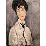 International Publishing 5801N15685A Jigsaw Puzzle 'Modigliani Femme à la Cravate Noire 1917' 1000-Piece