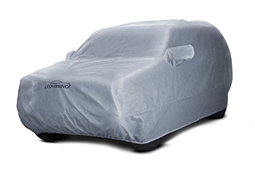 Coverking Custom Fit Car Cover for Select Honda Accord Models Gray Mosom Plus