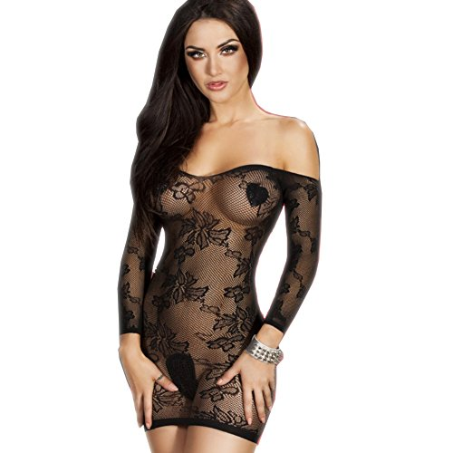 LTEllZ SU20023C1 Hollow Black Women Sexy Lingerie - Size M (Excel Vaporizers compare prices)