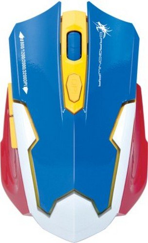 676a065a67b Dragonwar Emera 3200 DPI Gaming Mouse (Blue) Price in India | Buy Dragonwar  Emera 3200 DPI Gaming Mouse (Blue) Online - Gludo.com