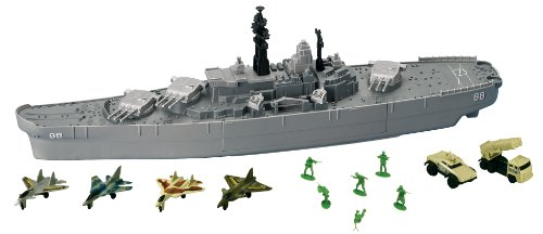 "Motormax Giant 30"" Battleship Uss New Jersey front-80298"