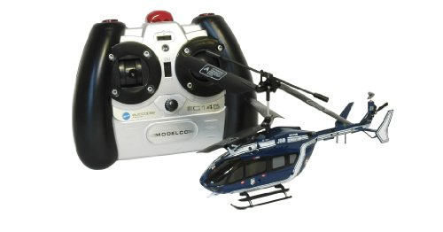 EC145 Eurocopter 3-channel Infrared Radio-controlled Police Helicopter 43EC145-GEND