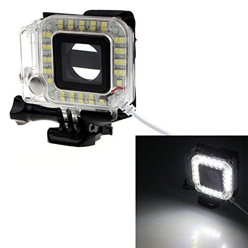 dodorm (TM) Accessoires GoPro USB Objectif Anneau Nightshot lumière de nuit à LED Flash remplir Shoot pour GoPro Hero 3/3+/4Appareil Photo