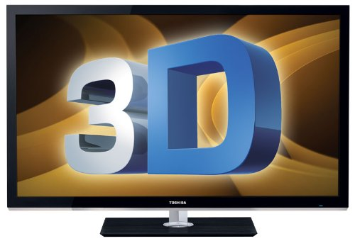 Toshiba 46WX800U 46-Inch 1080p 240 Hz Cinema Series 3D LED TV, Black