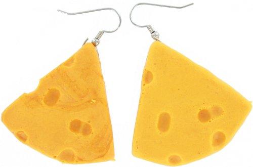 Green Bay Packers Foam Cheese Earrings