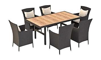 9 Artelia Ensemble Table Et Et Chaises R Sine Tress E Plateau Bois Composite