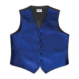 Royal Satin 5 Button Full Back Vest