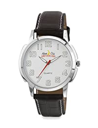 ALPINE CLUB 012-SIL-SIL-BRW IPS MEN'S WATCH BY SWISS MILITARY