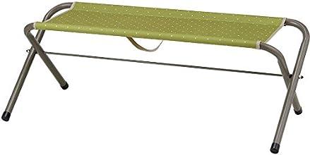 BUNDOK(バンドック) チェア ベンチ 100 ドットグリーン BD-172S DO/GR