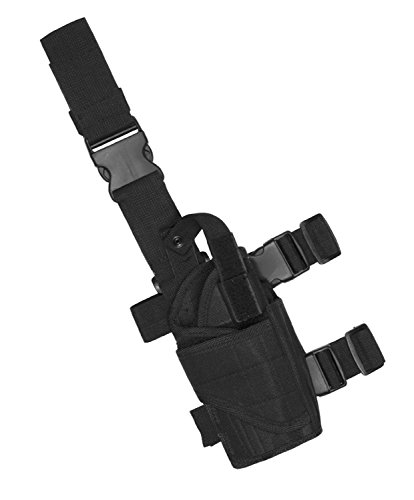 Learn More About Attmu Leg Holster, Right Handed Leg Holster, Universal Leg Holster, Black