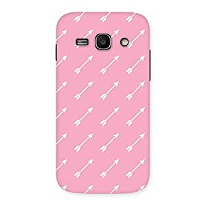 Delighted Pink And Arrow Multicolor Back Case Cover for Galaxy Ace 3