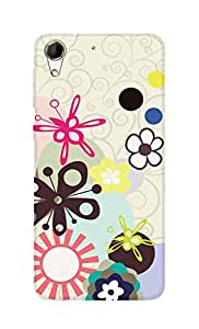 SWAG my CASE Printed Back Cover for HTC Desire 728