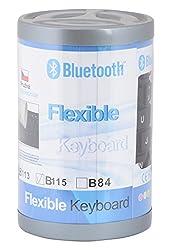 Nesco Bluetooth Silicon Foldable Keyboard (Black)