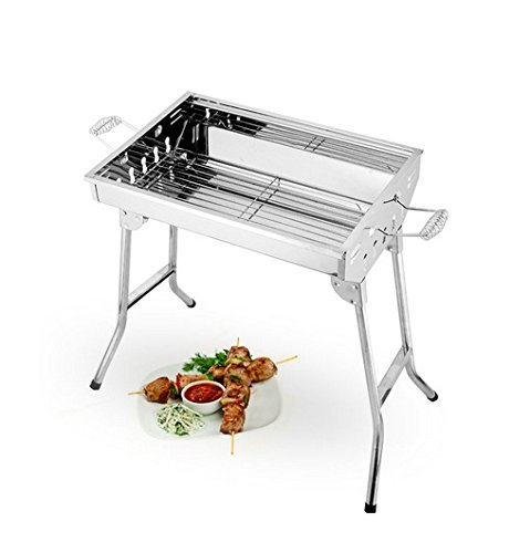 Stainless Steel Charcoal Folded Barbecue Grill