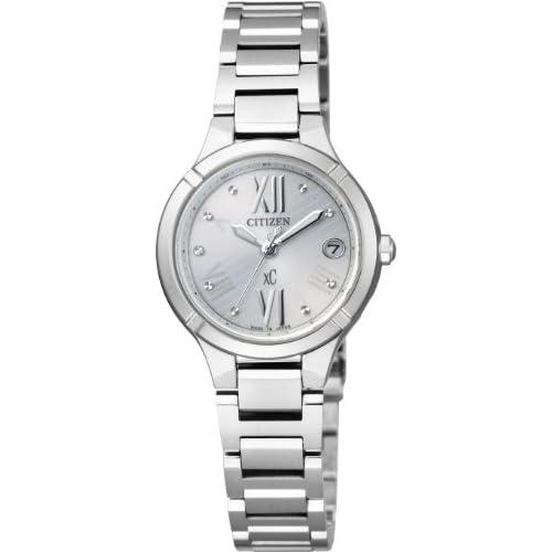 [シチズン]CITIZEN 腕時計 xC クロスシー TITANIA LINE MINISOL Eco-Drive エコ・ドライブ 電波時計 ES8080-50A レディース