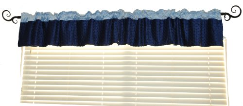 Neatbaby Designs Valance, Blue