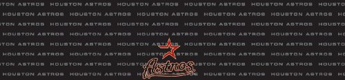 Houston Astros Team Auto Visor Decal