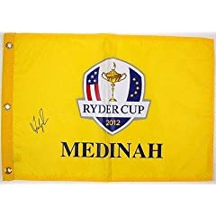 Buy Fred Couples Signed Autographed 2012 Ryder Cup Golf Flag #t09265 - PSA DNA Certified - Autographed... by Sports Memorabilia
