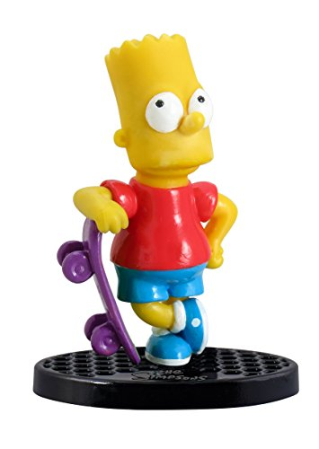 """Simpsons The Bart with Skateboard 2.75"""" PVC Action Figure"""
