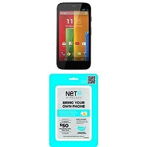 Motorola Moto G 8GB - US GSM Unlocked with Net10 SIM Card