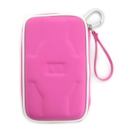 Airform Leather Case for NDS Lite Nitendo Console + Crystal Clear LCD Protector with Cleaning Cloth (Pink) + Crystal Clear LCD Protector with Cleaning Cloth
