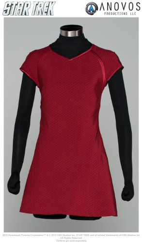 Star Trek The Movie Uniform Replica Adult: Uhura Red Dress