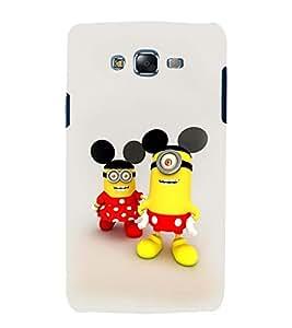 printtech Minion Mickey Minnie Mouse Back Case Cover for Samsung Galaxy E7 / Samsung Galaxy E7 E700F
