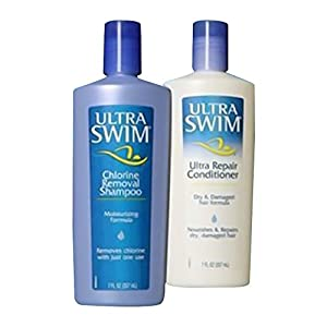 UltraSwim Dynamic Duo Repair Shampoo and Conditioner, 14 Fluid Ounce