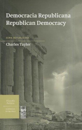 Democracia Republicana / Republican Democracy (Coleccion Ciencias Humanas: Republicana)