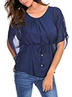 FRENCH CODE Blusa Carla (Azul Marino)