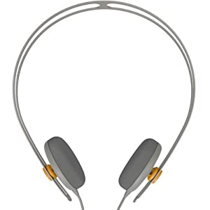 AIAIAI 5338 Tracks Headphones w/ Mic for Apple iPhone iPod iPad Android (Grey)