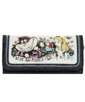 Disney Alice in Wonderland - We're All A Little Mad Wallet [Toy]
