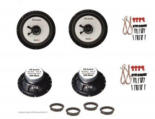 VW-Golf-4-und-Golf-6-Lautsprecher-Boxen-Tr-vorne-und-hinten-PG-Audio