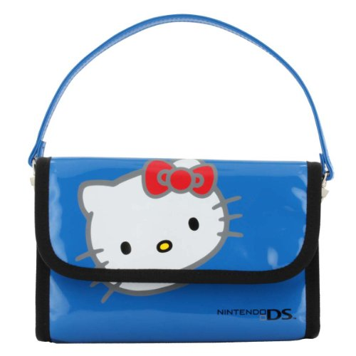 Hello Kitty Officially Licensed Nintendo Case - Blue (Nintendo 3DS/DSi XL/DSi)