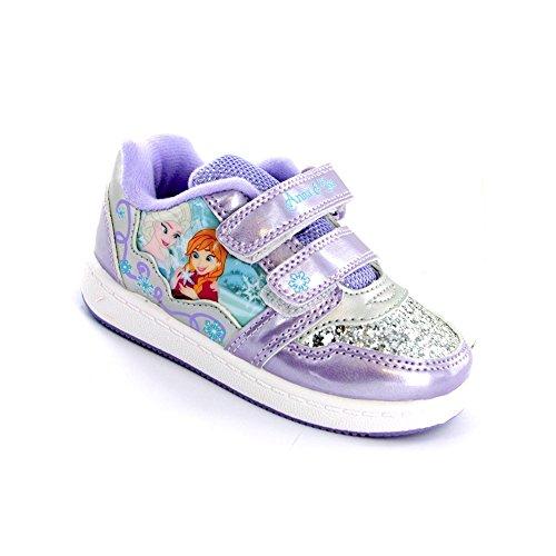 Disney Frozen, Sneaker bambine Viola viola, Viola (viola), Bambino 23,5 EU