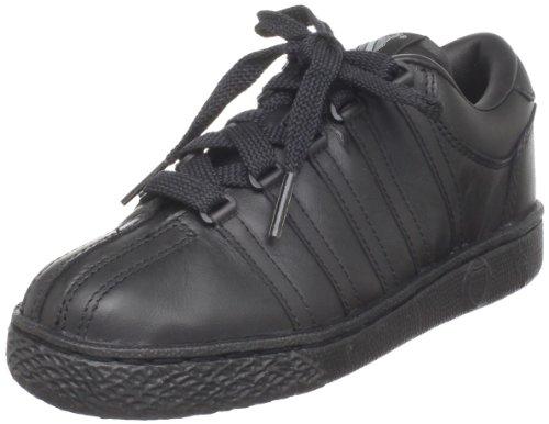 K-Swiss 501 Classic Tennis Shoe (Little Kid),Black/Black,11 W US Little Kid