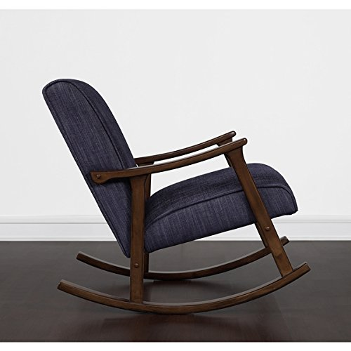 Retro Indigo Wooden Rocker 1