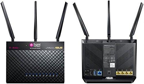 아수스 공유기 T-Mobile AC-1900 리퍼 모델 (RT-AC68U업데이트 가능) Wireless-AC1900 Dual-Band Gigabit Router