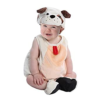 Boo Babies Halloween Costume Precious Puppy Dog Sz 0-9 Months 4 Pieces Beige
