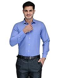 Harvest BLUE CHECK. 100 % Cotton Shirt for Men